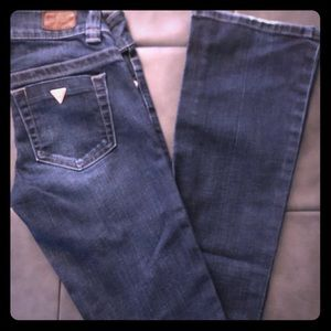 Womens Guess Daredevil Bootcut Low Rise Jean23/33